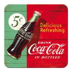 Postershop Sada podtácku Coca-Cola 5 ks