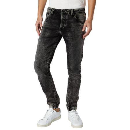 Pepe Jeans pánské jeansy Gunnel 33/30 černá