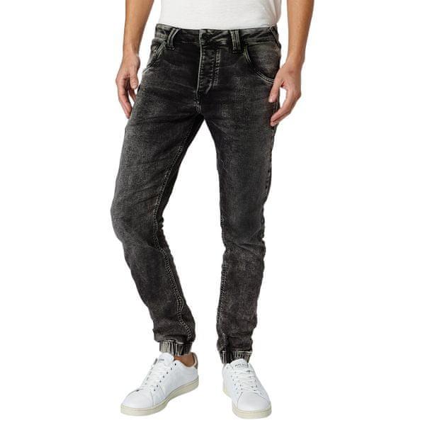 Pepe Jeans pánské jeansy Gunnel 36/30 černá