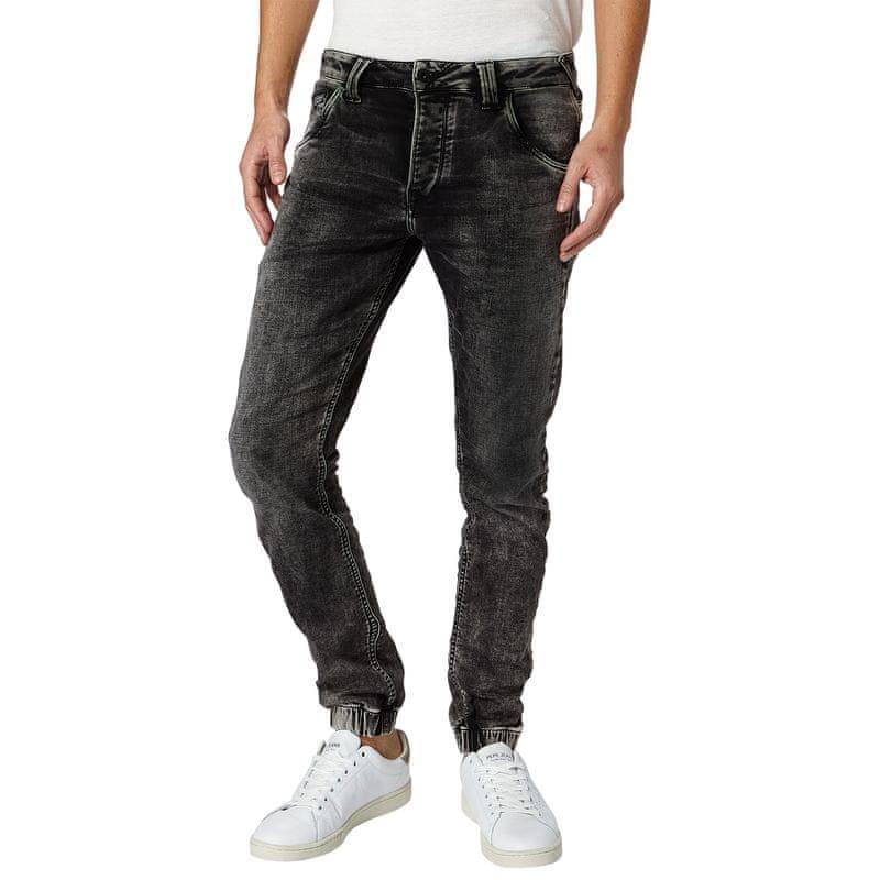 648ec87be38 1 - Pepe Jeans pánské jeansy Gunnel 32 30 černá ...
