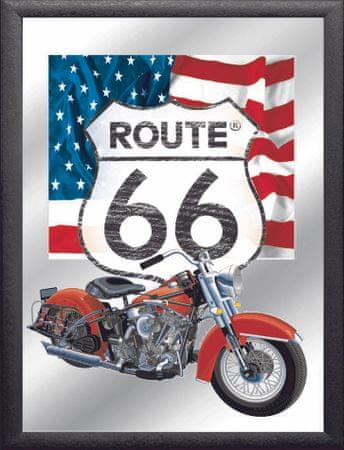 Postershop Zrkadlový obraz Route 66