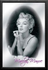Postershop Zrkadlový obraz Marilyn Monroe