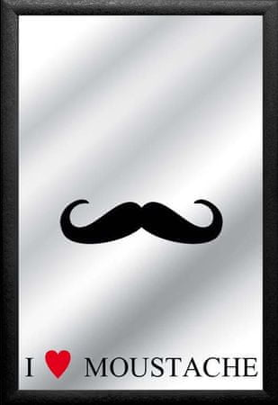 Postershop ogledalo Moustache