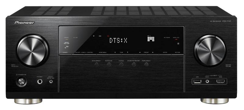 Pioneer VSX-1131-B, černá