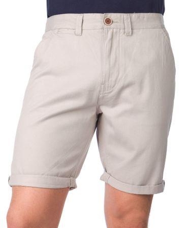 Brave Soul moške kratke hlače Campbell XL siva