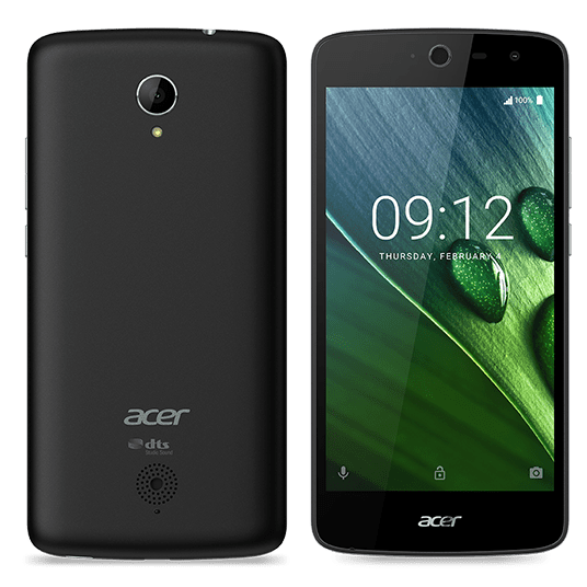 Acer ZEST, Dual SIM, černý