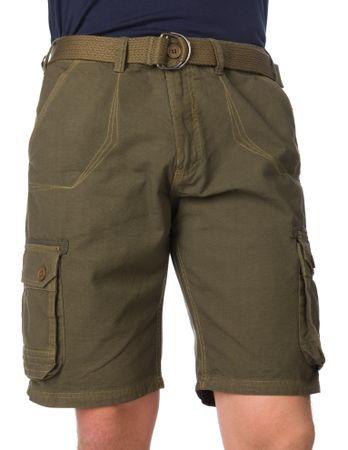 Brave Soul moške kratke hlače Ancotes L kaki
