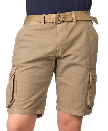 Brave Soul moške kratke hlače Ancotes L rjava