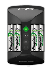 Energizer Pro Charger +4 ks AA Power Plus 2000 mAh