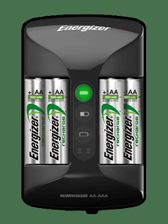 Energizer Pro Charger Akkumulátor töltő + 4 db AA Power Plus 2000 mAh