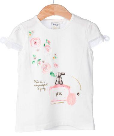 Primigi dekliška majica 98 bela