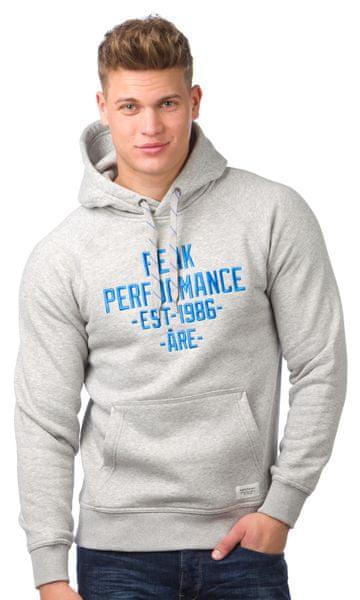 Peak Performance pánská mikina přes hlavu S šedá