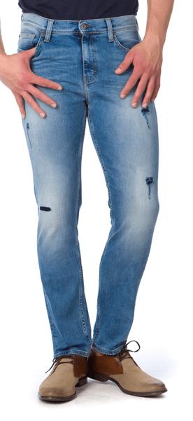 Mustang pánské kalhoty 35/34 modrá