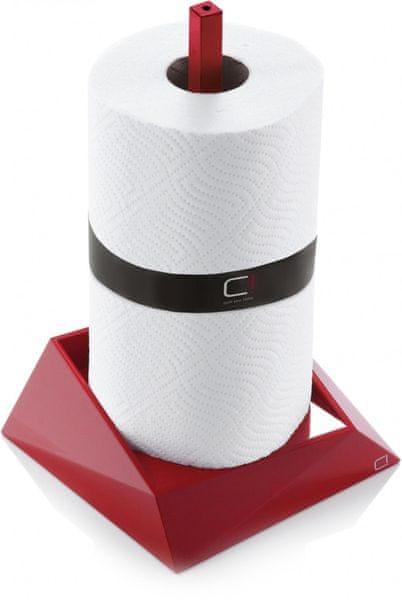 Cuisine CUBIX držák na papírové role červená