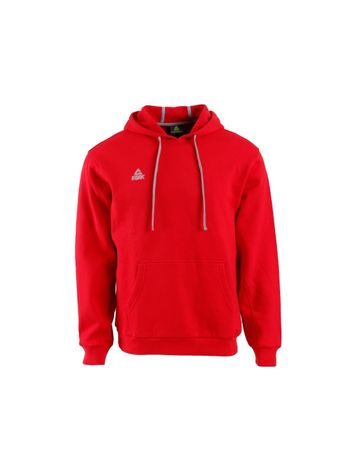Peak pulover s kapuco F6805, moški XXXS, rdeč