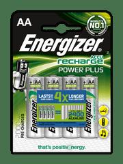 Energizer NiMH Power Plus AA 2000 mAh, 4ks