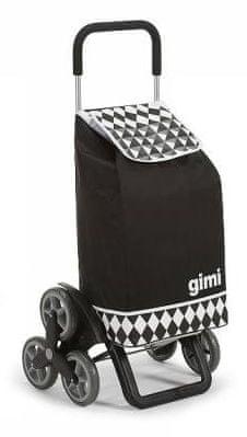 Gimi Tris Optical blue nákupní taška