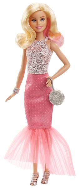 Barbie Večerní šaty blond