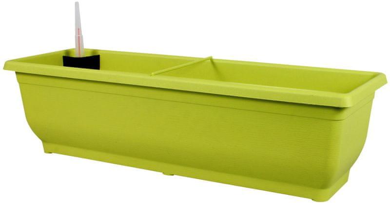 NOHEL GARDEN Samozavlažovací květináč Torenie 80 cm zelená