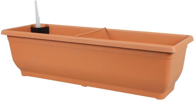 NOHEL GARDEN Samozavlažovací truhlík Torenie 60 cm cihlová