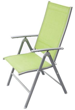 Rojaplast stol ANF-26C, zelen (606/2)