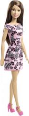 Barbie Bábika v šatách bruneta