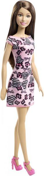 Barbie Panenka v šatech bruneta