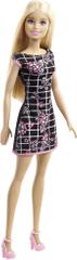 Barbie Bábika v šatách čiernych