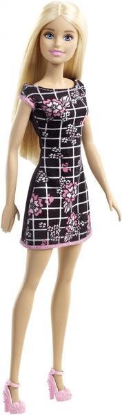 Barbie Panenka v šatech černých