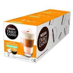 NESCAFÉ kavne kapsule Dolce Gusto Latte Macchiato - nesladkana, trojno pakiranje