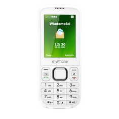 myPhone 6300, bílý