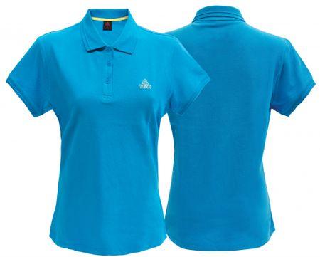 Peak ženska majica Polo F642868, M, turkizna