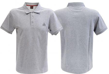 Peak moška majica Polo F642867, S, siva