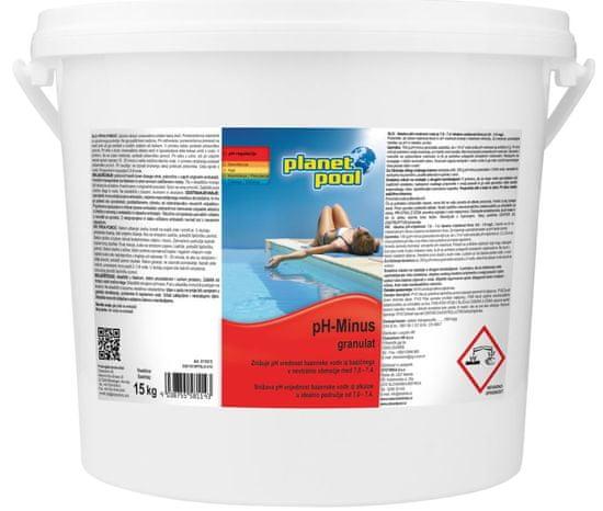 Planet Pool pH minus granulat (15 kg)