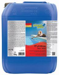 Planet Pool pH minus tekoči, 10 l