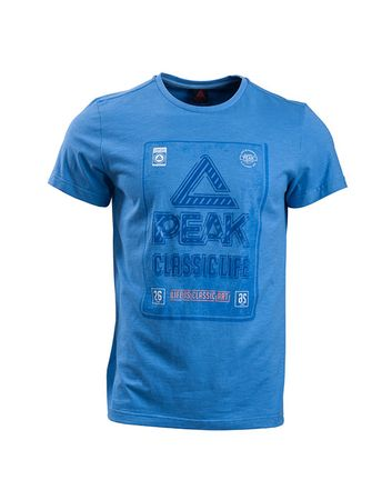 Peak moška majica za tek F652125, XL, modra