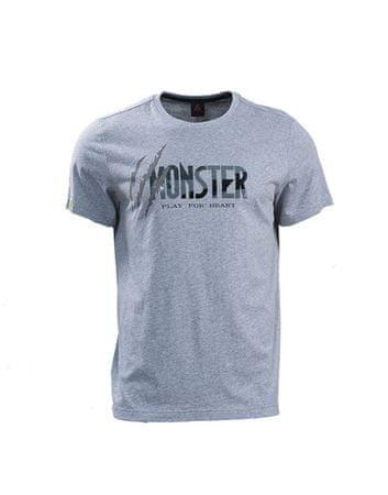 Peak moška majica za tek F652771, XXL, siva