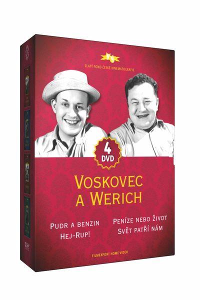 Kolekce Voskovec a Werich (4DVD) - DVD