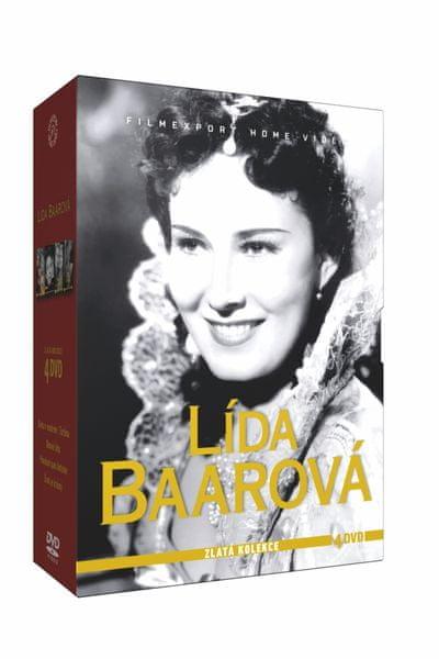 Lída Baarová - kolekce 1 (4 DVD) - DVD