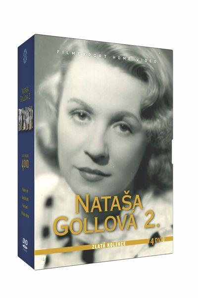 Nataša Gollová - kolekce 2 (4DVD) - DVD