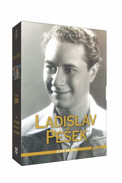 Kolekce Ladislav Pešek (4DVD) - DVD
