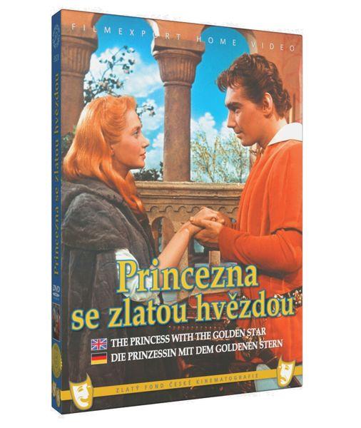 Princezna se zlatou hvězdou - DVD