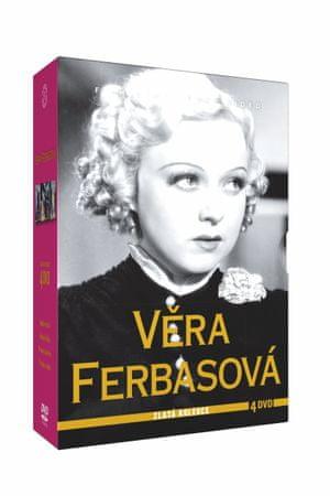 Kolekce Věra Ferbasová (4DVD)   - DVD