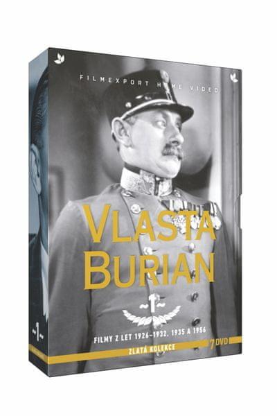 Vlasta Burian - kolekce 1 (7DVD) - DVD