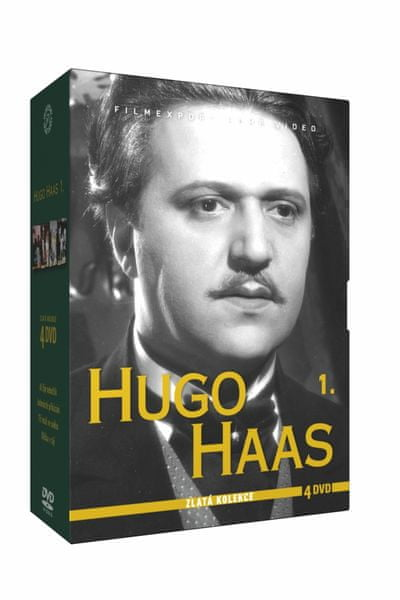 Hugo Haas - kolekce 1 (4 DVD) - DVD