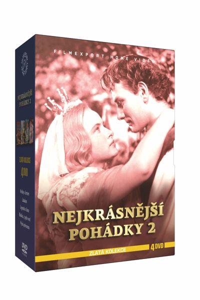 Kolekce Nejkrásnější pohádky 2. (4DVD) - DVD