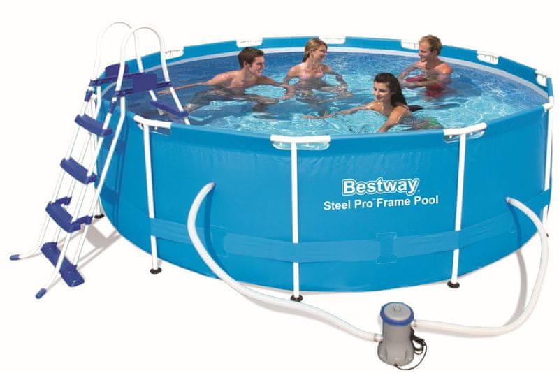 Bestway bazén s konstrukcí 3,66 x 1 m
