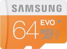Samsung microSDXC 64GB EVO UHS-I (class 10) 48MB/s (MB-MP64D/EU)