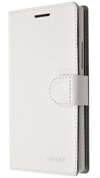 Fixed flipové pouzdro FIT, kolekce RedPoint, Lenovo Vibe K5/K5 Plus, bílé