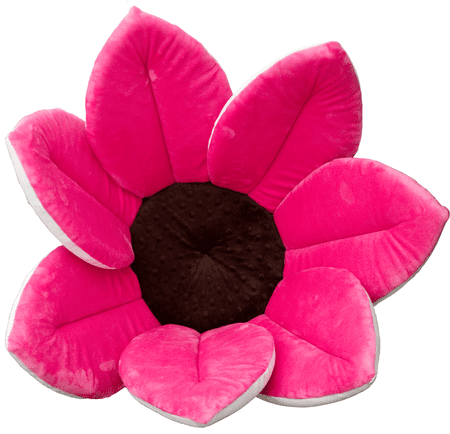 Bloomingbath Kvitnúci kúpeľ, mäkká vložka do vody, Hot Pink